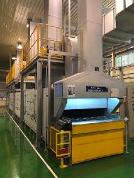 Conveyor belt furnace